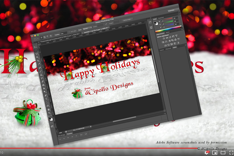 Prepare Photoshop File for Apple Motion