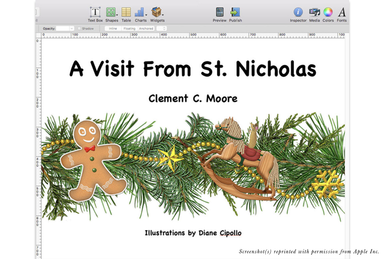 iBooks Author - Building Title Page