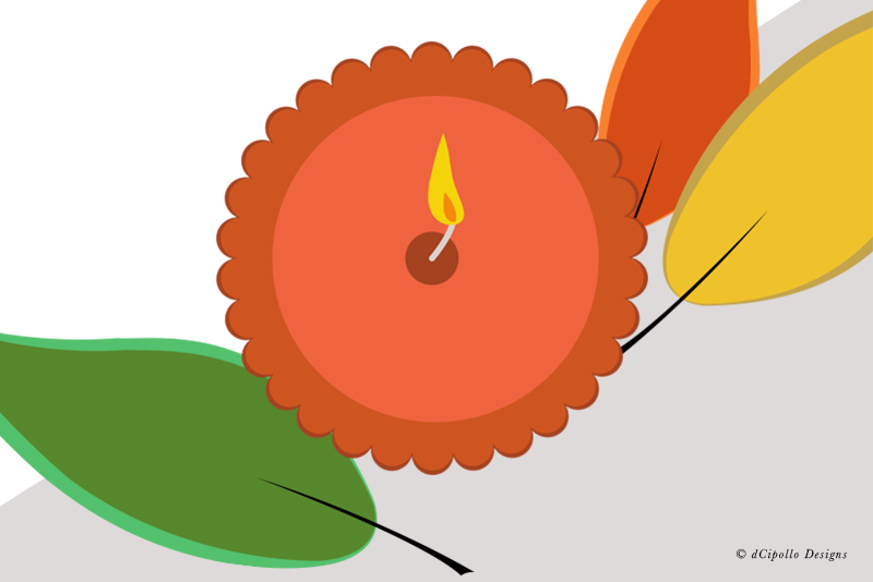 Draw a Candle in Illustrator