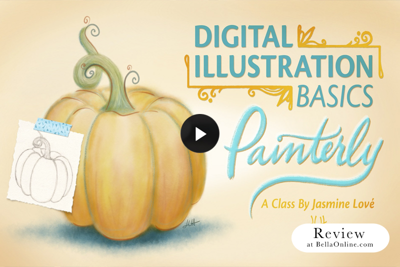 Review - Digital Illustration Basics: Painterly