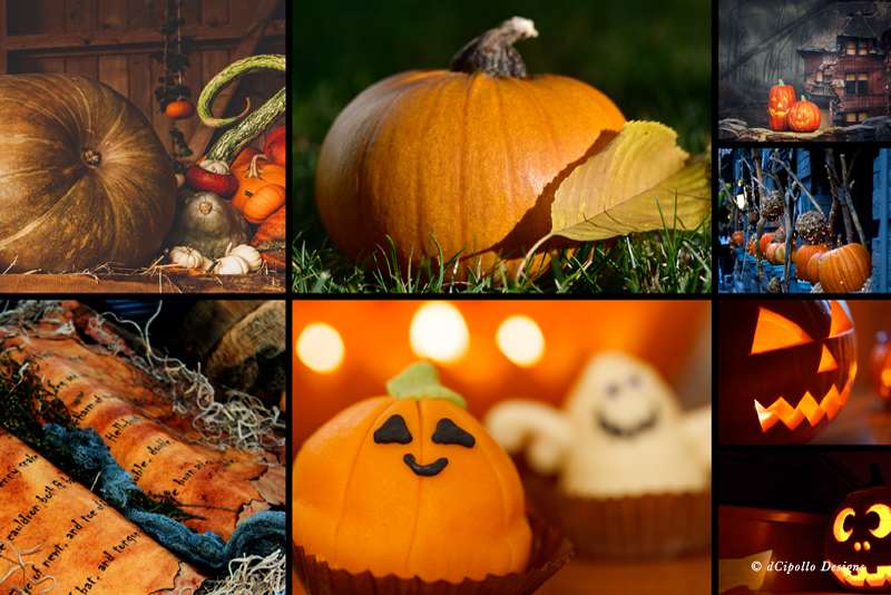 Custom Autumn Halloween Screen Saver for iMac
