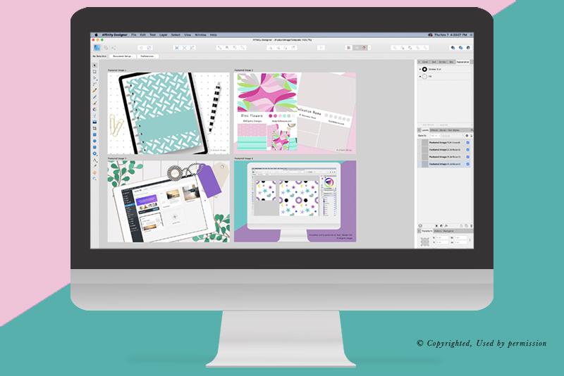 Affinity Designer - Using Multiple Artboards