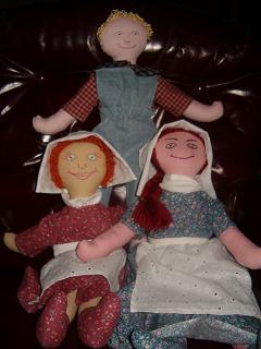 21 inch cloth dolls