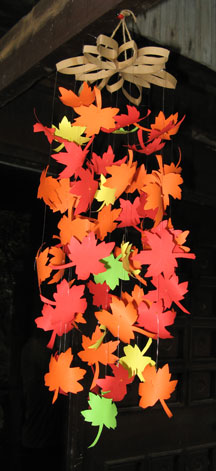 leaf mobile photo