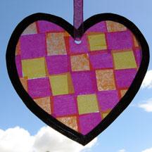 heart suncatcher photo