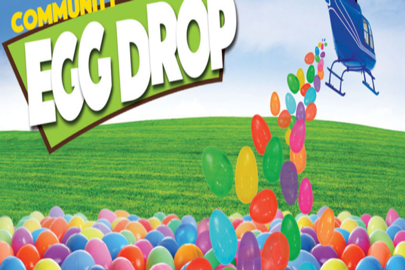 Easter Helicopter Egg Drop, Tennessee