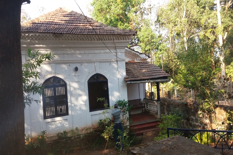 The old homestead in Pilerne, Goa