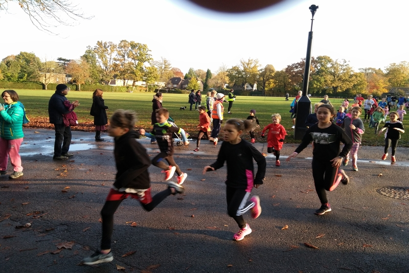 The Park Run in the UK